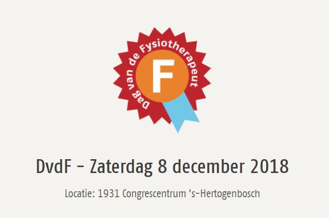 Dag van de Fysiotherapeut 2018 | zaterdag 8 december | 's Hertogenbosch