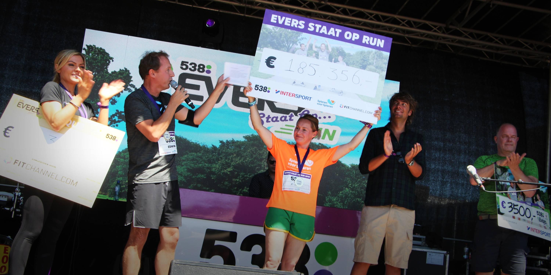 Evers staat op Run haalt €185.356,- op voor inspanningslab Spieren voor Spieren