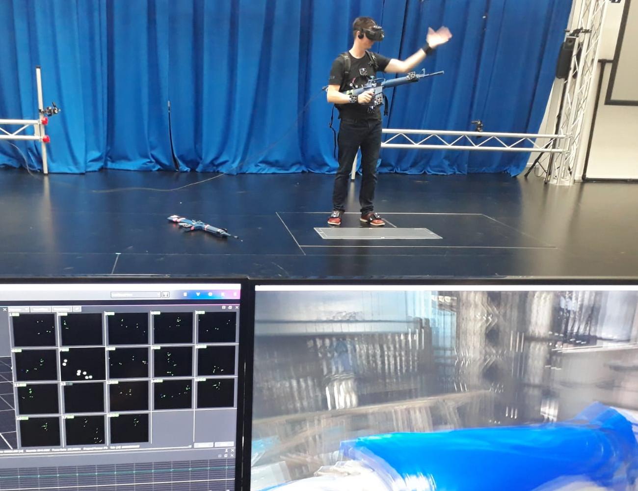 VR Arcade tilt virtuele playgrounds naar een hoger niveau met Vicons Origin