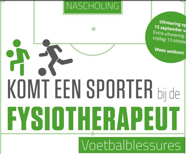 Nascholingsdag | Komt een sporter bij de Fysiotherapeut 13-10